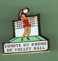 VOLLEY-BALL *** COMITE DU RHONE *** 1055 - Voleibol