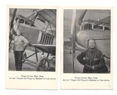 WALTER FREY + WERNER BODMER SOLOTHURN 7 AOUT 1917 SUISSE AVIATION /FREE SHIP. R - Flieger