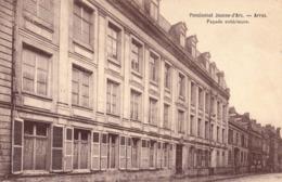 ARRAS 62 ( LE PENSIONNAT JEANNE D' ARC - FACADE EXTERIEURE  )  ECOLE - Arras