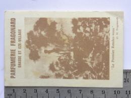 Carte Parfumée Parfum - Parfumerie FRAGONARD GRASSE Et EZE VILLAGE - Perfume Cards