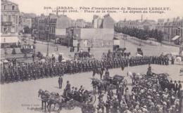 ARRAS 62 ( FETES D' INNAUGURATION DU MONUMENT LENGLET  )  MILITAIRE 1905 - Arras
