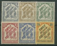 Deutsches Reich Dienst 1905 Für Baden D 9/14 Ohne Gummi, Kl. Fehler (G17266) - Dienstpost