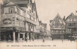 BEAUVAIS - VIEILLES MAISONS PLACE DE L HOTEL DE VILLE - Beauvais