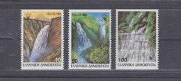 GREECE 1988 - Waterfalls / MNH - Greece