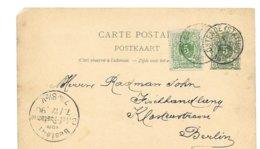 Oostende Naar Berlin 1890 - 1869-1888 Lion Couché
