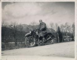 MOTOCICLETA , MOTO , MOTOR , MOTORCYCLE , MOTORRAD - ANTIGUA FOTOGRAFIA ORIGINAL - Otros
