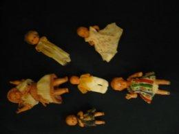 Konvolut 6 Puppen - Davon 4x Schildkröt  (822) - Dolls