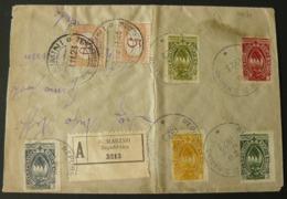 1923  BEAUTIFUL LETTER GO FROM SAN MARINO TO RIMINI + BEAUTIFULS  STAMPS // BELLA LETTERA  X RIMINI - Saint-Marin