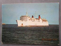 Cp 20  La Corse Inoubliable Bateau  CAR FERRY  , Le Corse Compagnie Générale Transatlantique  Paquebot 1970 - Ferries