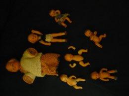 Konvolut 7 Puppen - Davon 3x Edi Germany  (823) - Puppen