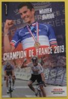 Cyclisme , Warren Barguil , Champion De France 2019 - Cyclisme