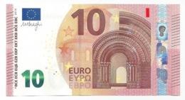 EURO OBERTHUR BULGARIA 10 FA F003 UNC DRAGHI - EURO