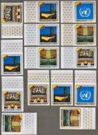 Lot Bhutan : Admission Du Bhoutan Aux Nations Unies N°314/17 + PA N°93/95 +Non Dentelés - Bhutan