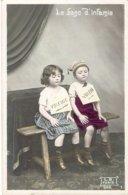 Enfants Le Banc D'infamie 1906 - Cartes Humoristiques
