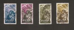 España 1956 Used Completa - 1951-60 Usados