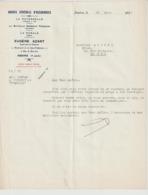 1936  Courrier Préfecture De Haute Loire  LE PUY - Old Paper
