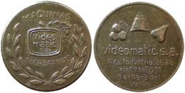 05417 GETTONE TOKEN JETON AMUSEMENT VIDEOMATICA MAQUINAS RECREATIVA - Espagne