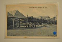 80 Somme Fressenneville La Place ( Petite Cornure Coin Ht Droit ) - Autres Communes