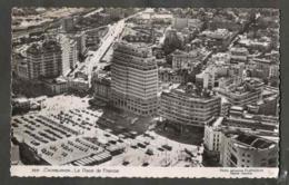 CPSM. Maroc. Casablanca. La Place De France. Grands Immeubles. Circulation. Voitures. Photo Véritable. Circulé 1953. - Casablanca