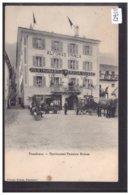 POSCHIAVO - RESTAURANT PENSION SUISSE - ATTELAGE - TB - GR Grisons