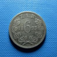 South Africa 6 Pence 1895 Silver - Südafrika