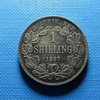 South Africa 1 Shilling 1897 Silver - Südafrika