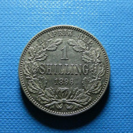 South Africa 1 Shilling 1896 Silver - Südafrika