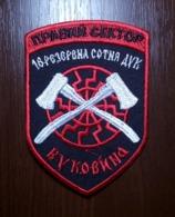 Patch Bukovina 16th Reserve Hundred RIGHT SECTOR DUC Volunteer Ukrainian Corps UKRAINE Abzeichen Ecusson Parche - Stoffabzeichen