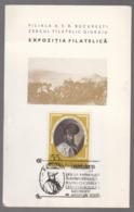 MAXIMUM CARD -Philatelic Exhibition 1595-1975-380 YEARS FROM BATTLE FOR CONQUEST OF MICHAEL THE BRAVE CETATII GIURGIULUI - Maximumkarten (MC)