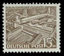 BERLIN DS BAUTEN 1 Nr 48 Postfrisch Ungebraucht X875EFE - [5] Berlin