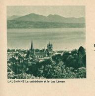 Carte Illustrée Neuve N° 193 - 065 C -- LAUSANNE La Cathèdrale Et Le Lac Léman    (Zumstein 2009) - Entiers Postaux