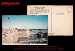 TRASTERO. ESTADOS UNIDOS. TARJETAS POSTALES. TARJETA POSTAL 1970. CASTILLO DE SAN MARCOS EN SAN AGUSTÍN - St Augustine