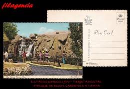 TRASTERO. ESTADOS UNIDOS. TARJETAS POSTALES. TARJETA POSTAL 1970. PARQUE DE BUSH GARDENS EN TAMPA - Tampa