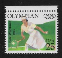 US 1990, Hazel Wightman Olympics (1924) Tennis, Scott # 2498,VF MNH**OG - Summer 1924: Paris