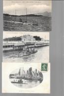 5 DE NOS SOUS-MARINS FRANCAIS / BERTHELOT/MONGE/L'OURSIN/LUDION/JEAN AUTRIC - Submarines