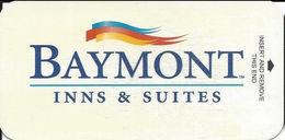Baymont Narrow Hotel Room Key Card - Hotel Keycards