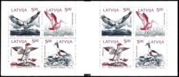 14645  Ducks - Canards - Birds - Letonia Yv C304 - Booklet - MNH - 2,25 (7) - Canards