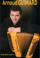"CPSM ACCORDEON ""Arnaud GUIMARD"" - Musica E Musicisti"