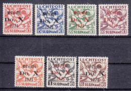 Netherlands Surinam Suriname DoX Set 1931 Mi#159-165 Mint Hinged - Suriname ... - 1975