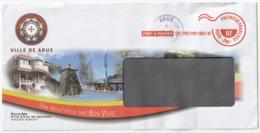 Polynésie Française / Tahiti - 1 Enveloppe / Mairie De Arue En 2018 - Polynésie Française