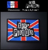 Écusson Brodé Thermocollant NEUF ( Patch Embroidered ) - Sex Pistols - Ecussons Tissu