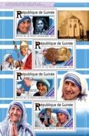 Guinea 2015  Mother Teresa,Princess Diana, Pope John Paul II - Guinée (1958-...)
