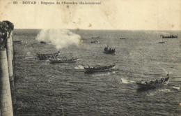 ROYAN  Régates De L' Escader ( Baleinières) RV - Royan