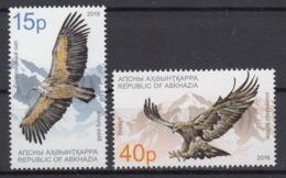 ABKHAZIA 2019 EUROPA CEPT NATIONAL BIRDS .SET 2 ST MNH - 2019