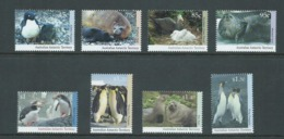 Australian Antarctic Territory 1992 - 1993 Wildlife Set 8 Series I & II MNH - Unused Stamps