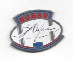 Pin's  Sport   RUGBY  ANJOU - Rugby