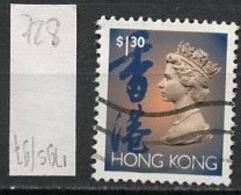 Hong Kong - Honkong - Chine 1993 Y&T N°728 - Michel N°702 (o) - 1,30d Reine Elisabeth II - Hong Kong (...-1997)