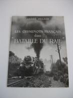 Les Cheminots Français Dans La Bataille Du Rail  André DELAGE - Werbetrailer
