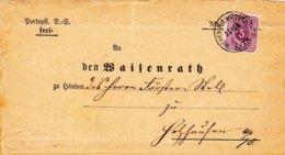 """Wehen - Wiesbaden, Brief An """"den Waisenrath....."""" - Historical Documents"""