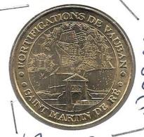 Jeton Touristique 17 Ré Vauban 2007 - Monnaie De Paris